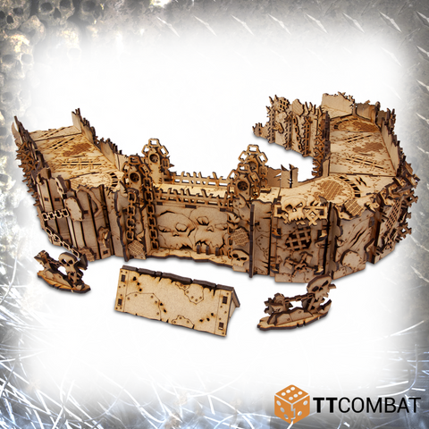Orc Stronghold - Tabletop Scenics (MDF)