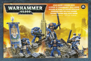 Space Marine - Command Squad (Warhammer 40k)