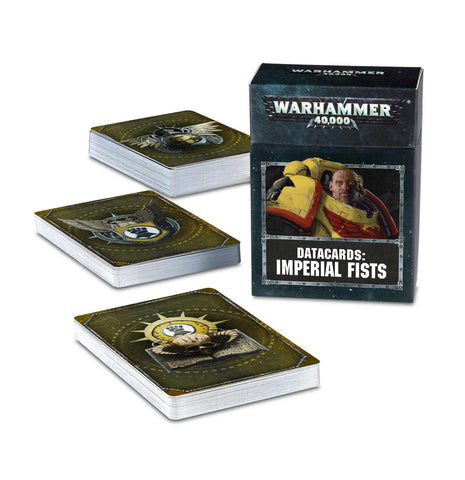 Datacards - Imperial Fists *Pre-order item for release on 26th October