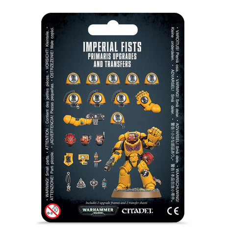Imperial Fists Primaris Upgrades & Transfers *Pre-order item for release on 26th October