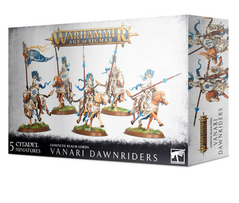 Vanari Dawnriders - Lumineth Realm-Lords (Age of Sigmar) :www.mightylancergames.co.uk