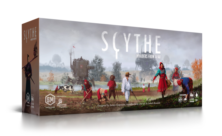 Scythe - Invaders from Afar - Stonemaier Games: www.mightylancergames.co.uk