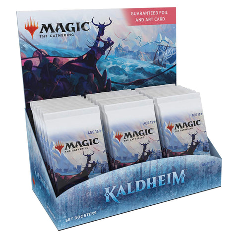 MTG Kaldheim Set Booster Display