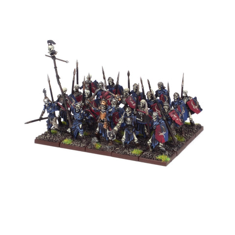 Skeleton Regiment - Undead (Kings of War) :www.mightylancergames.co.uk