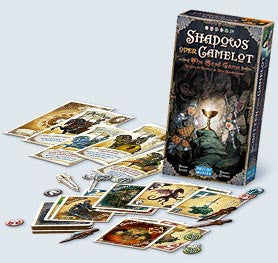 Shadows over Camelot - The Card Game: www.mightylancersgames.co.uk