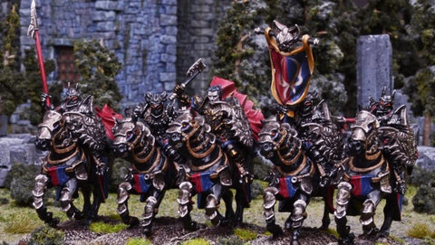 Soul Reaver Cavalry - Undead (Kings of War) :www.mightylancergames.co.uk