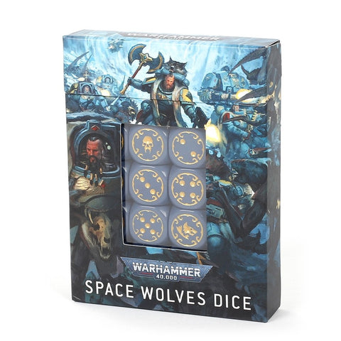 Warhammer 40k Space Wolves Dice