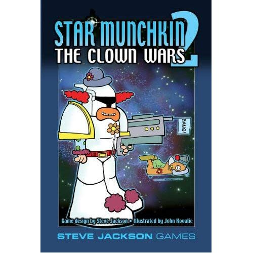 Star Munchkin 2 - The Clown Wars: www.mightylancergames.co.uk