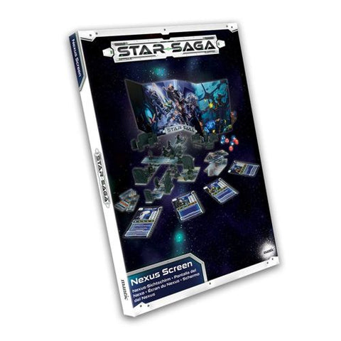 Nexus Screen - Star Saga: www.mightylancergames.co.uk