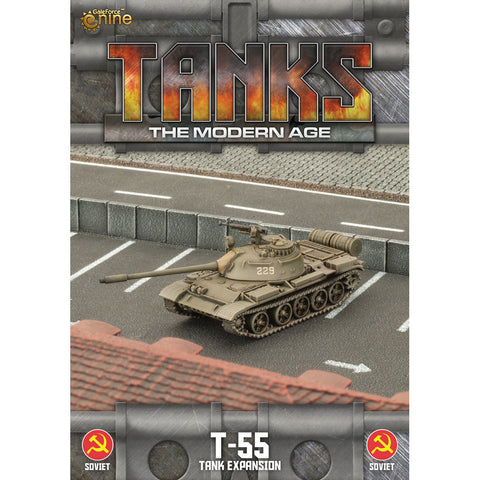 Tanks, The Modern Age - T-55 Expansion