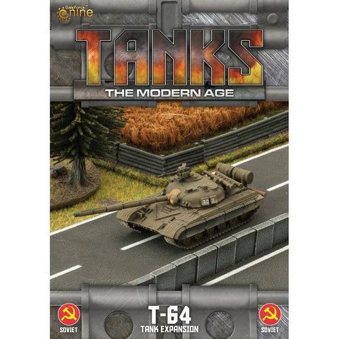 Tanks, The Modern Age - T-64 Expansion