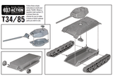 Bolt Action: Soviet Plastic T-34/85 medium tank