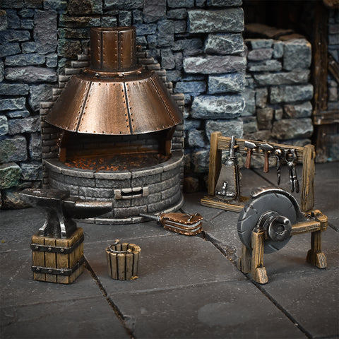 Blacksmith's Forge - Terrain Crate :www.mightylancergames.co.uk