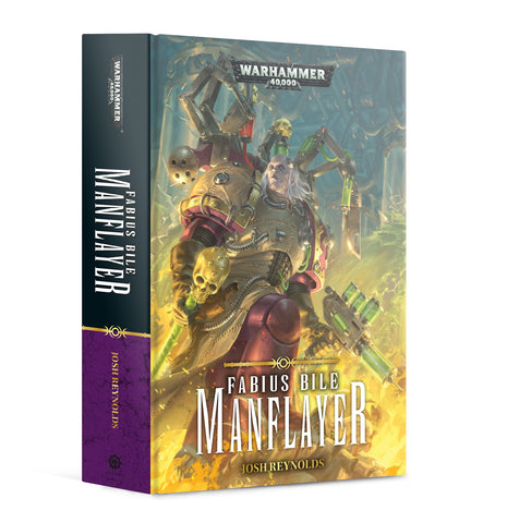 Fabius Bile - Manflayer (Hardback Novel) :www.mightylancergames.co.uk