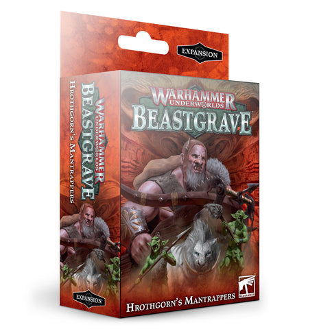 Hrothgorn's Mantrappers - Warhammer Underworlds/Beastgrave :www.mightylancergames.co.uk
