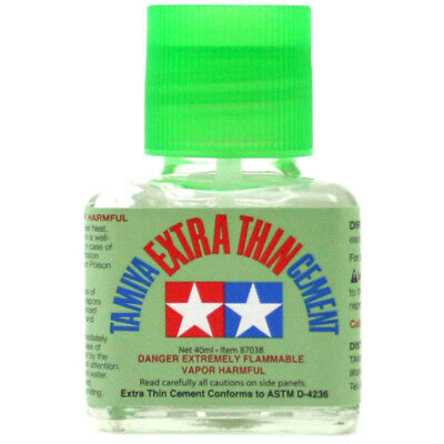 Tamiya Extra Thin Liquid Cement 40ml :www.mightylancergames.co.uk
