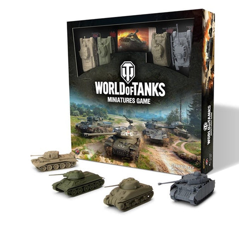 World Of Tanks Mini Game Starter Set