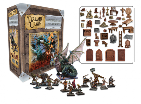 Terrain Crate: GM's Dungeon Starter Set - 2nd Edition