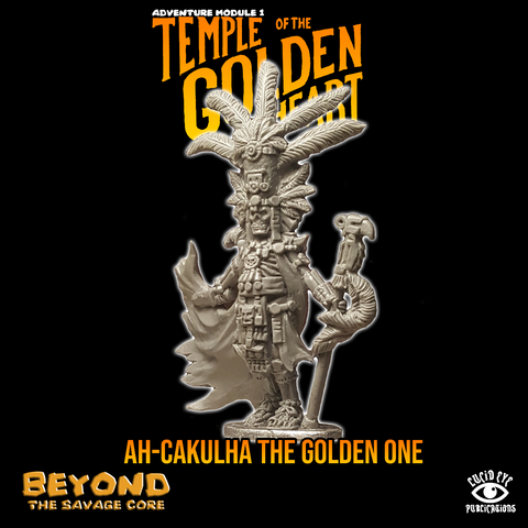 Ah-cakulha, The Golden One - Beyond the Savage Core: www.mightylancergames.co.uk