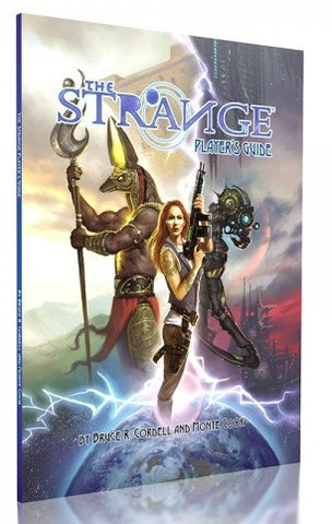 The Strange RPG - Players Guide :www.mightylancergames.co.uk