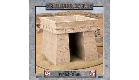 Forgotten City - Pharaoh's Gate (Battlefield in a Box - BB903) :www.mightylancergames.co.uk