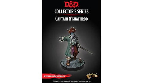 Captain N'Ghathrod - Dungeon of the Mad Mage  - D&D Collector's Series Miniature: D&D Miniature