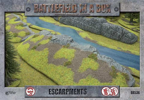 Escarpments - Batttlefield in a Box (BB5236)