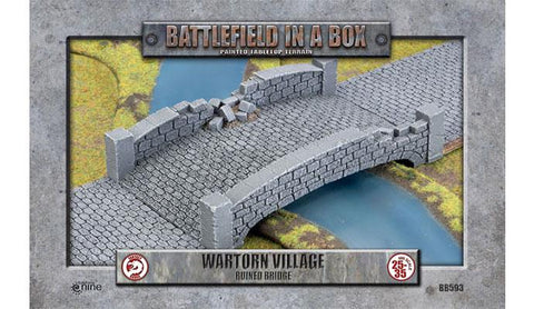 Battlefield in a Box: Ruined Bridge - Wartorn Village (BB593)