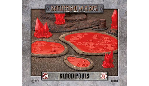 Battlefield In A Box - Blood Pools - BB604