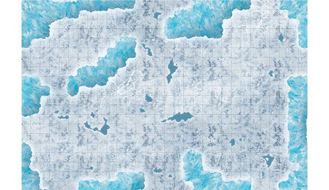 Caverns of Ice Encounter Map - Gaming Mat