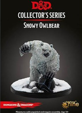 dungeons and dragons Snowy Owlbear