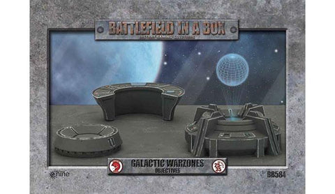 Battlefield In A Box - Galactic Warzone Objectives