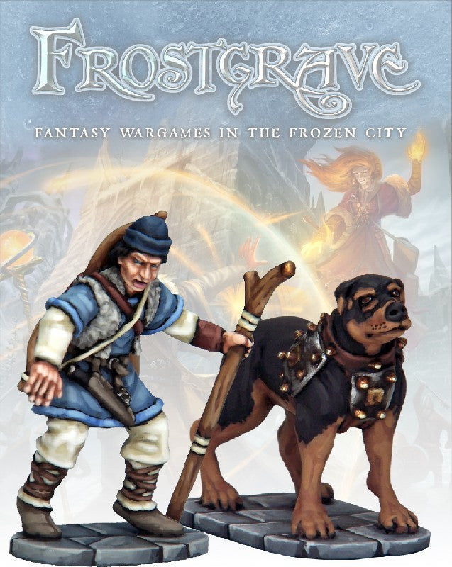 Frostgrave - Tracker and Warhound: www.mightylancergames.co.uk