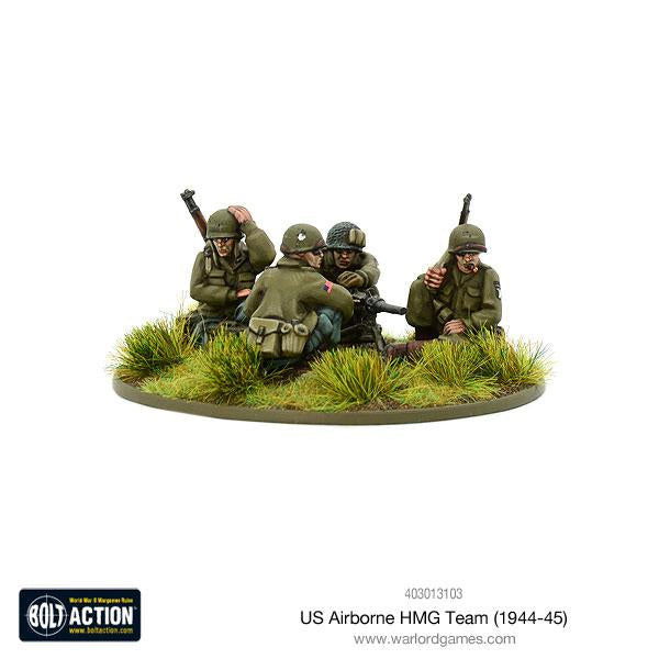 US Airborne HMG Team - Bolt Action Miniatures