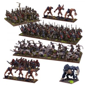 Undead Mega Army - Kings of War :www.mightylancergames.co.uk