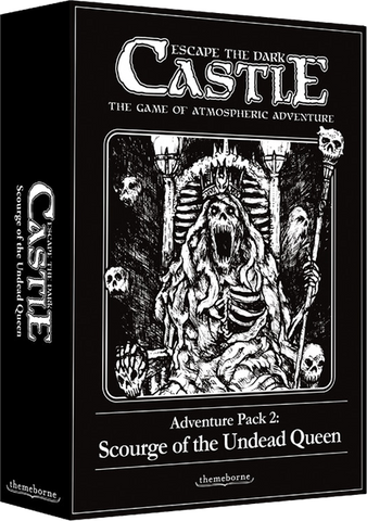 Escape the Dark Castle - Adventure Pack 2: Scourge of the Undead Queen: www.mightylancergames.co.uk