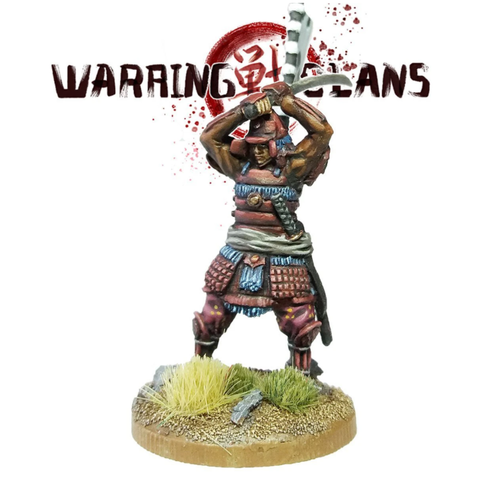 Samurai With Katana Raised - SAM008 - Warring Clans