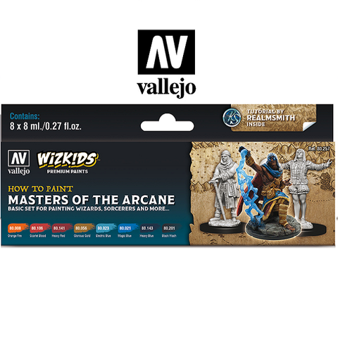 Masters of the Arcane - Vallejo Wizkids Paint Set - 80-257