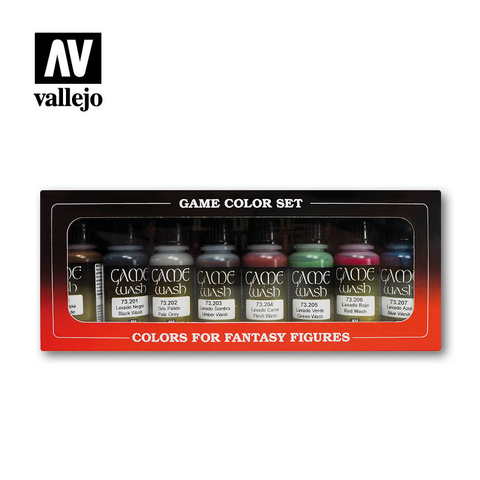 Game Color Washes Set - Vallejo - 73.998