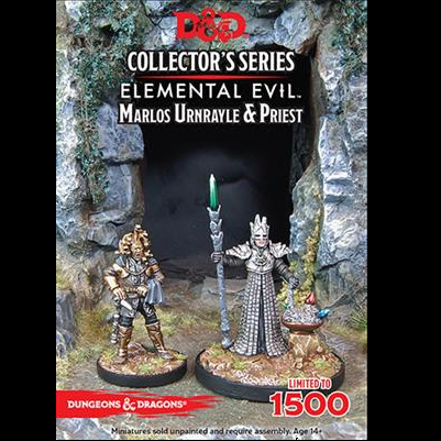D&D Collector's Series - Marlos Urnrayle & Earth Priest - 71039