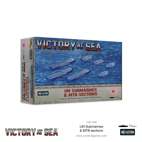 IJN Submarines & MTB Sections - Victory at Sea