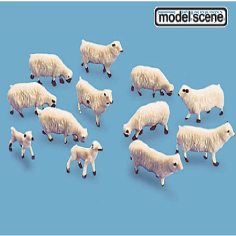 PECO - Sheep and Lambs - OO/HO Gauge - 5110