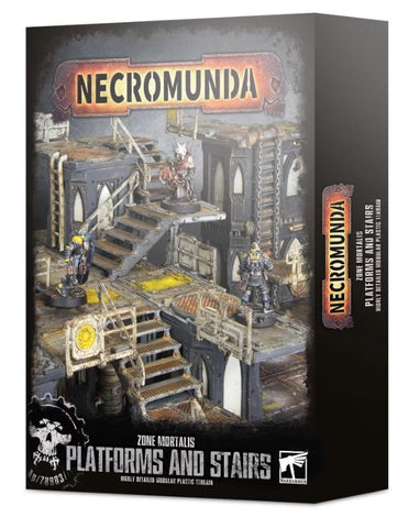 Necromunda Zone Mortalis Platforms and Stairs :www.mightylancergames.co.uk