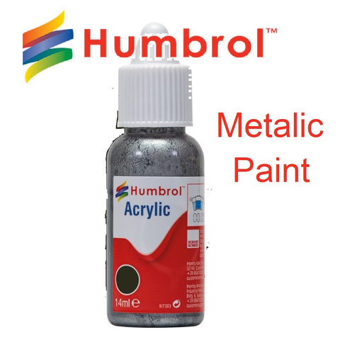 Humbrol metallic paint