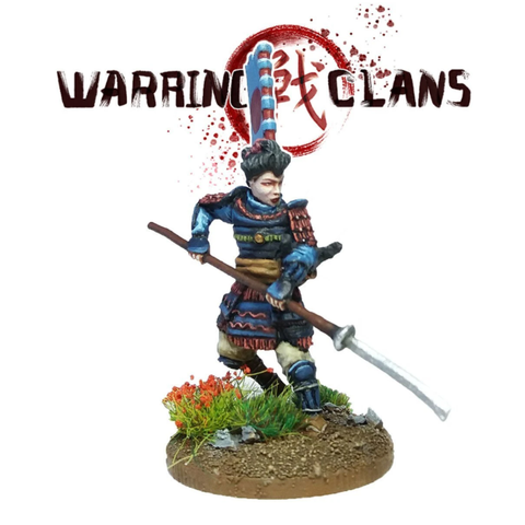 Female Warrior - Onna-bugeisha - SAM009 - Warring Clans