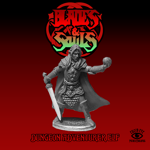 Dungeon Adventurer Elf - Lucid Eye Blades & Souls - ELF