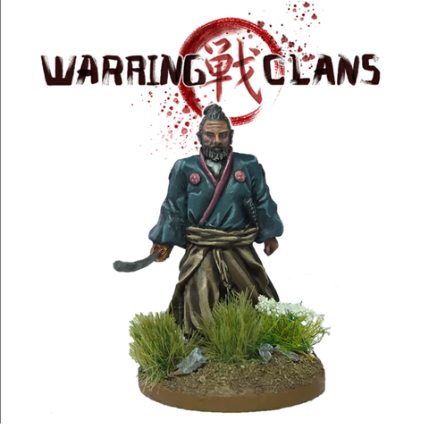 Walking Samurai with Katana - SAM005 - Warring Clans