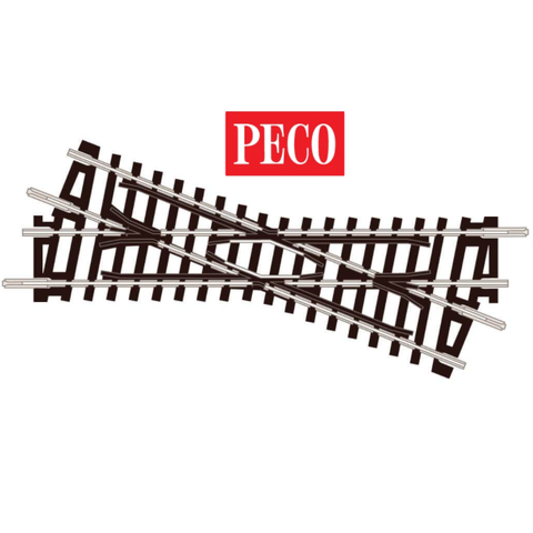 PECO - Left Hand Crossing Short - ST-51- N Gauge