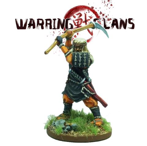 Benkei Warrior Monk- SAM015 - Warring Clans