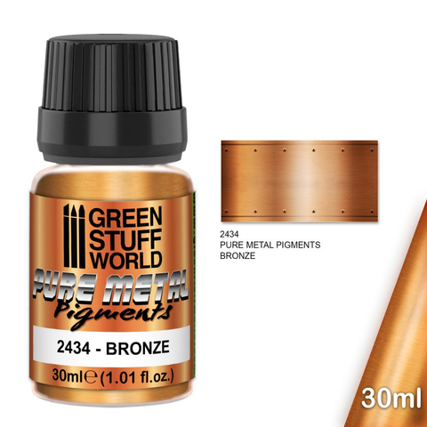 Bronze - Pure Metal Pigments - Green Stuff World 2434